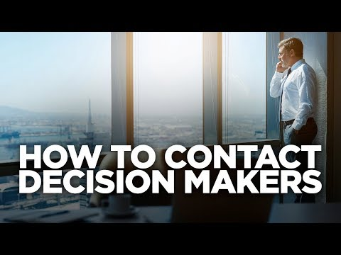 How to Contact Decision Makers: Young Hustlers photo