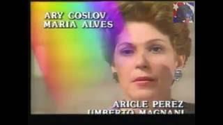 Felicidade / Felicidad (1991) - APERTURA en español   telenovela brasileña