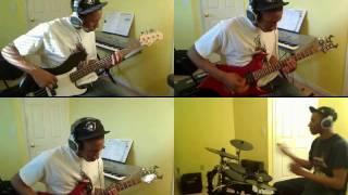Rock the Dragon/DBZ Theme (Split Screen Cover)