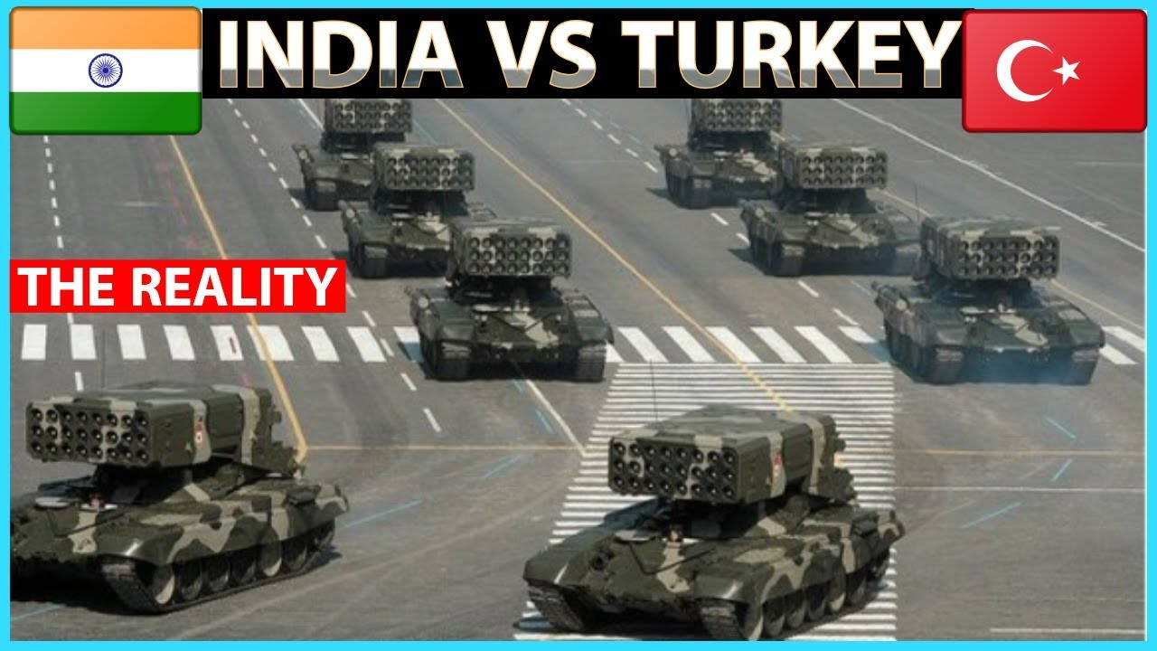 India VS Turkey Military Power Comparison