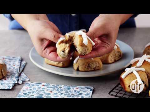 How to Make Easter Buttermilk Hot Cross Buns   Easter Recipes   Allrecipes.com