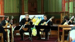 G. F. Händel Music For Royal Fireworks - La Rejouissance - Guitar Quartet