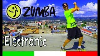 """Electronic"" Fogo ft. Julimar Santos || Zin™ 72 || Zumba® (Coreografia) Famoso Salvador Rodriguez"
