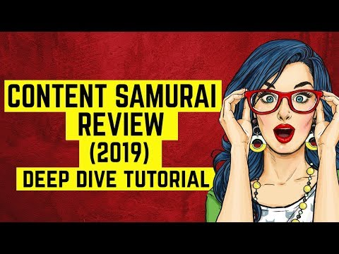 Content Samurai - YouTube Domination Pack - Content Samurai Review