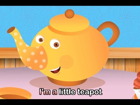 I'm A Little Teapot (with lyrics) - Nursery Rhymes by EFlashApps - YouTube