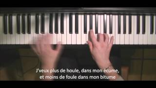 TON VISAGE - FRERO DELAVEGA (PIANO COVER + PAROLES)