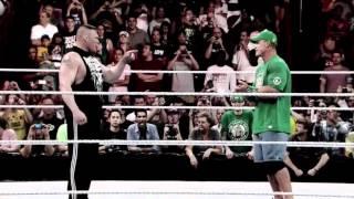 WWE Extreme Rules - John Cena vs Brock Lesnar Promo [HD]