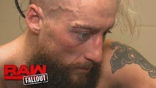 Enzo Amore recibe puntos de sutura después de su combate en Raw