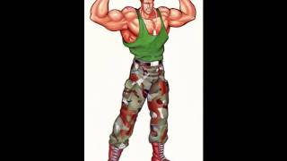 Street Fighter II SNES-Guile Stage