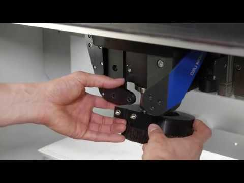 DATRON neo Setting Up Dust Collection System - Instructional Tutorial