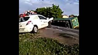 Accident la Mintia