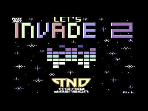 Let's Invade 2 (COMMODORE 64)