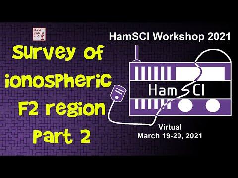 HamSci 2021:  Survey of ionospheric F2 region variability from the lower atmosphere, Part 2