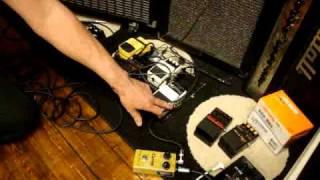 Åke Henriksson demonstrates Swedish Hardcore Punk Guitar Sound