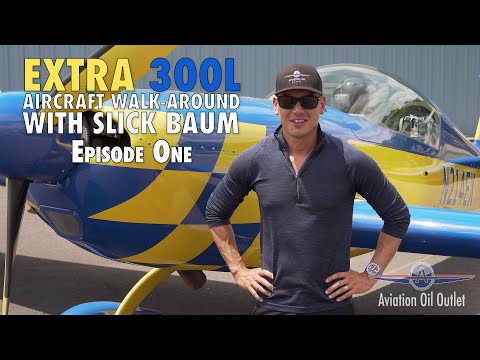 Extra 300L Aircraft walk-around with Slick Baum Episode 1 video