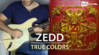 Zedd, Kesha - True Colors - Electric Guitar Cover by Kfir Ochaion