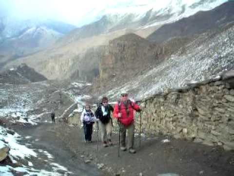 La montée,3790 mètres