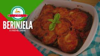 A verdadeira Berinjela a parmigiana, feita na Itália por Culinária direto da Itália
