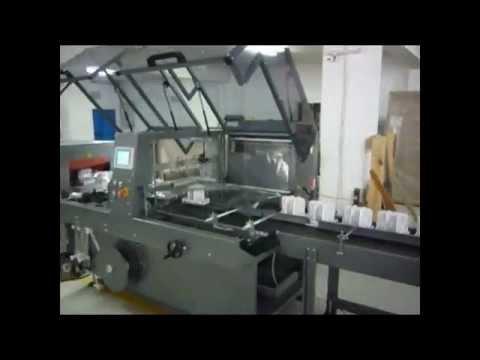 Cam Bardak Paketleme Shrink Makinası - ULTIMATE 40 - www.parkambalaj.com - +90 216 353 5466