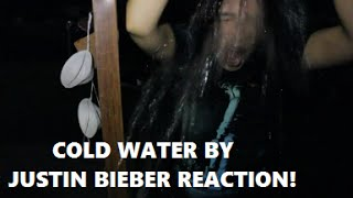 REACTION TO COLD WATER BY JUSTIN BIEBER