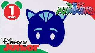 PJ Masks | Craft Tutorial: Catboy Mask | Disney Junior UK
