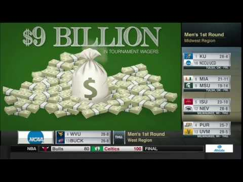 ESPN - AGA Estimates 97% of March Madness Wagers Will Take Place Illegally