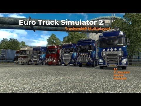 Euro Truck Simulator 2 TruckersMP Livestream 28102017