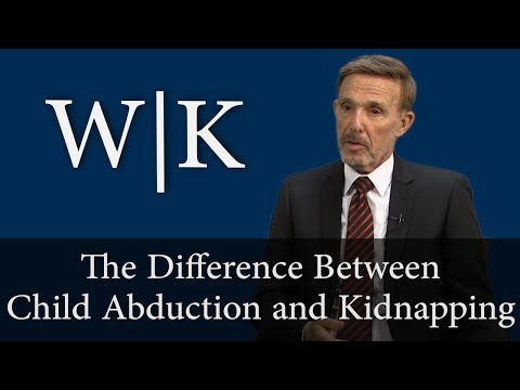 What is the Difference Between Child Abduction and Kidnapping?