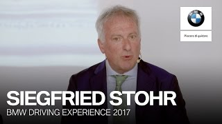 Siegfried Stohr presenta la BMW Driving Experience 2017.