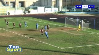 Gol e Highlights Marsala Calcio - Rotonda Calcio 2- 0