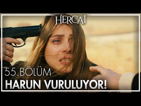 Yaren, Harun'u vuruyor - Hercai 55. Bölüm