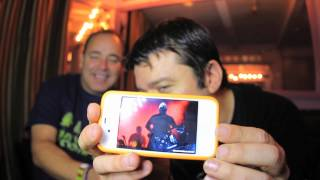 The Crystal Method Interview from Webster Hall NYC (CDJ Guitar and live show)