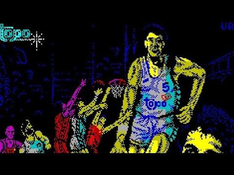 Juegos Olvidables: Drazen Petrovic Basket (Topo Soft) Spectrum/Amstrad/C64/MSX