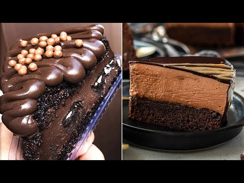 Easy and Delicious Chocolate Cakes | So Yummy Chocolate Decorations and Recipes