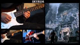 Skyrim - Dragonborn (Heavy Guitar)