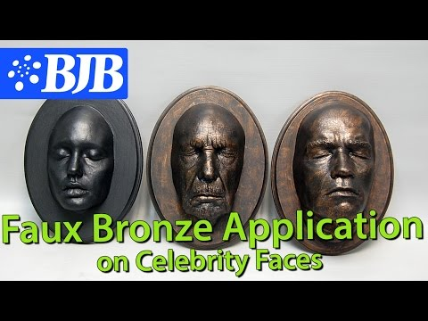 Episode 10: Faux Bronze Finish on Celebrity Faces