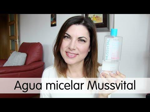 Agua micelar Mussvital, un producto destacado