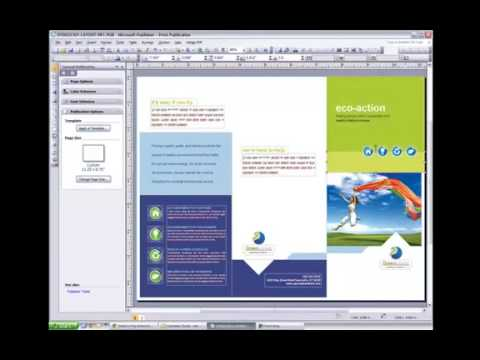 Adding Bleed to a Microsoft Publisher Document with StockLayouts Templates