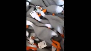Funny screaming rubber ducks