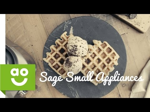 Sage By Heston Blumenthal BWM620UK The Smart Waffle Maker | ao.com