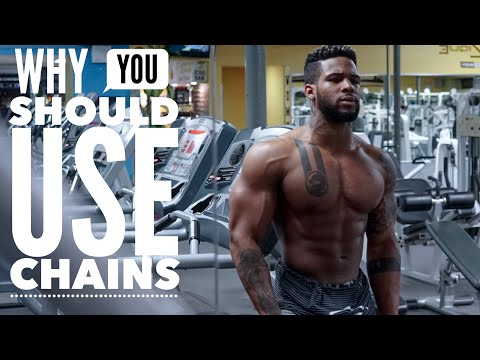 How To Use Chains For Strength & Lean Muscle | Gain Chest Mass Workout