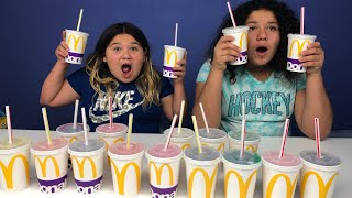 Don't Choose the Wrong McDonald's Drink Slime Challenge