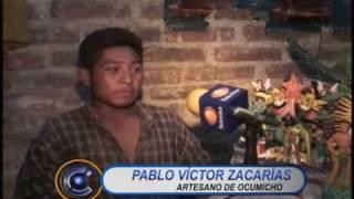 Diablos de Ocumicho riqueza artesanl michoacana