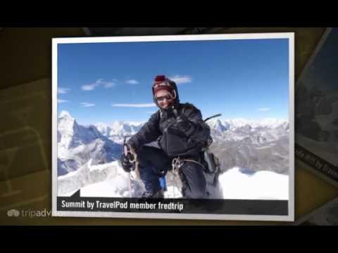 """Climbing Island Peak"" Fredtrip's photos around Chukhung, Nepal (blogs on climbing island peak)"