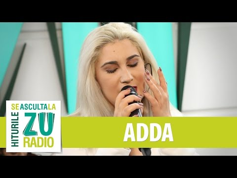 ADDA - De Dorul Tau (cu Muse Quartet si Marius Pop) (Live la Radio ZU)