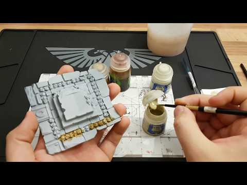 Tutorial:Miniaturen bemalen für Anfänger HD★ Knochen bemalen ★ How to paint by Murexx