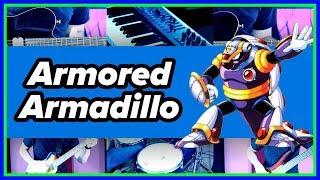 Armored Armadillo - Mega Man X - [METAL GUITAR COVER]