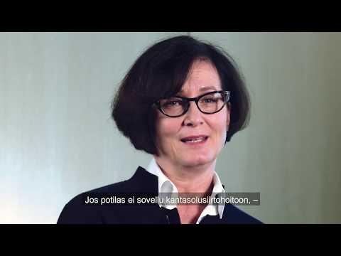 Tässä videossa hematologian erikoislääkäri Marjaana Säily (OYS) kertoo multippeli myeloomasta