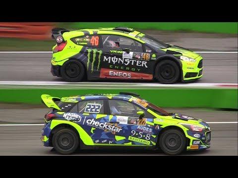 Monza Rally Show 2017 - Valentino Rossi vs Tony Cairoli