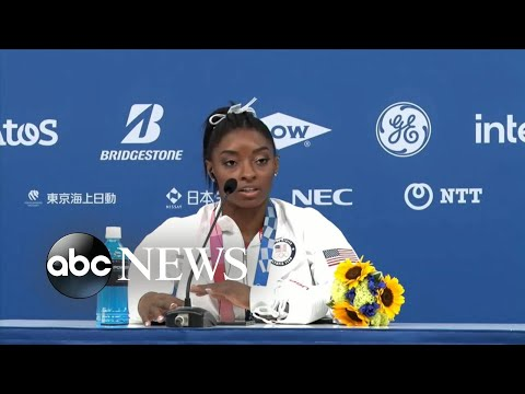 Olympic star Simone Biles withdraws mid-competition